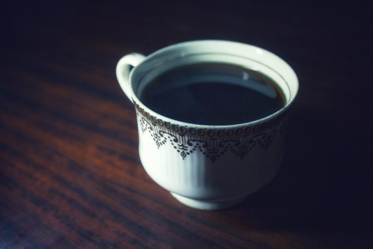 Ten, który pił czarną kawę