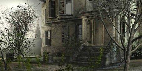 Dom przy torach