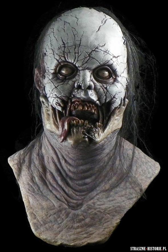 Przerażające, realistyczne maski