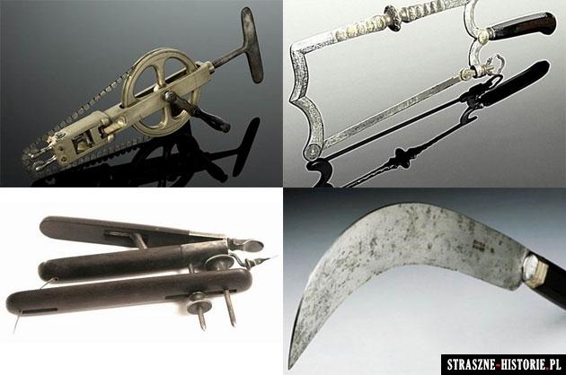 15 starych, strasznych narzędzi chirurgicznych