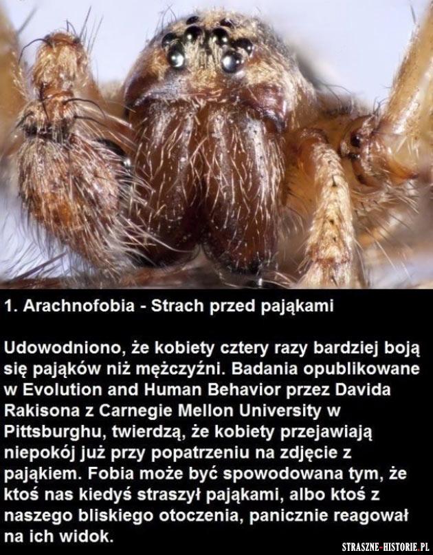 12 najpopularniejszych fobii na świecie