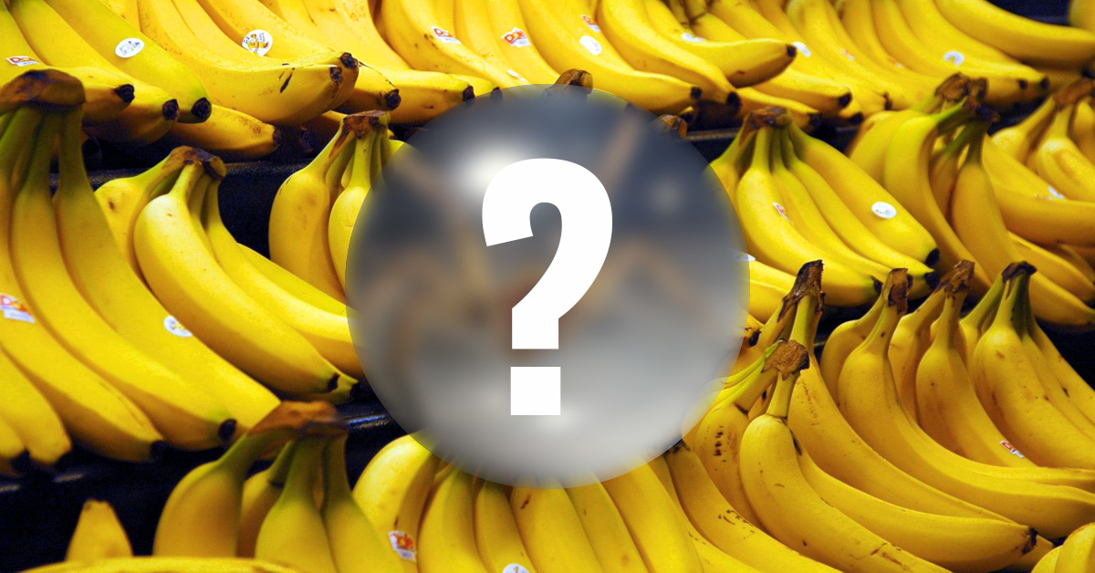 Kupił karton bananów. Co w nim znalazł?