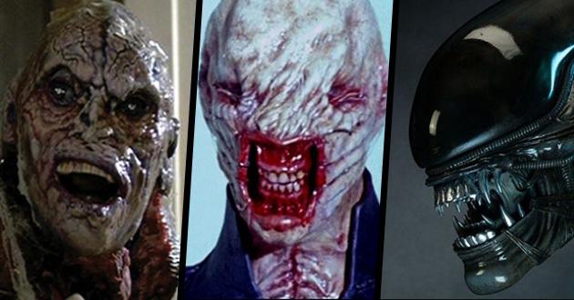 10 przerażających potworów z horrorów