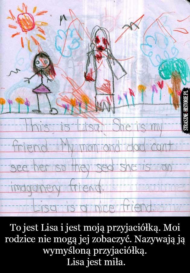 Lisa, wyimaginowana przyjaciółka
