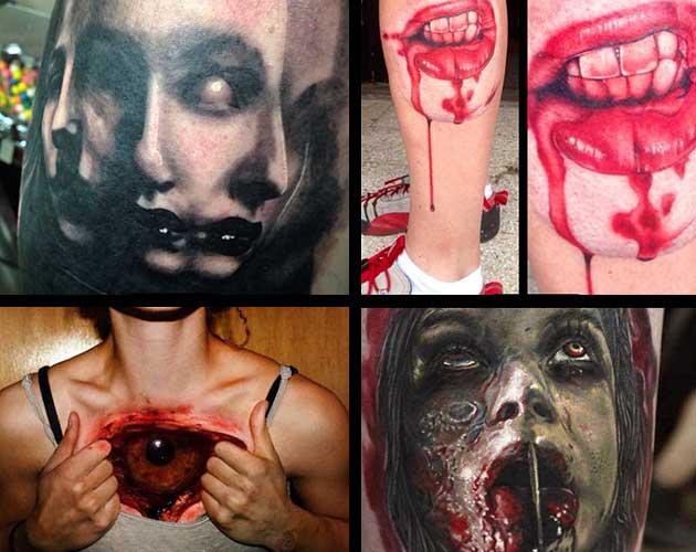 23 najstraszniejsze tatuaże na świecie